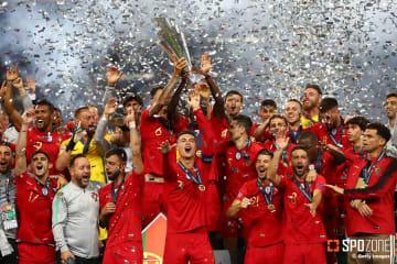 グエデスの決勝弾でポルトガルがUNL初代王者に輝く