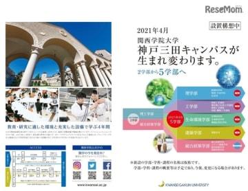 神戸三田キャンパスの再編構想