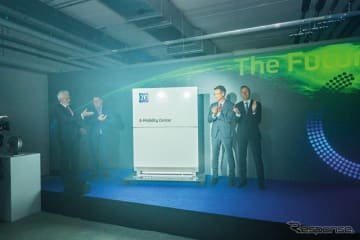 ZFがEモビリティ事業の研究開発のための新しい施設をドイツ・シュヴァインフルトのEモビリティ事業本部に開設