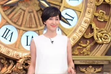 6月11日に放送されるバラエティー番組「教えてもらう前と後」に出演する滝川クリステルさん=MBS提供