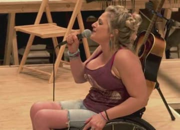 Ali Stroker Becomes First Wheelchair User To Win Tony Award For 'Oklahoma!' Role