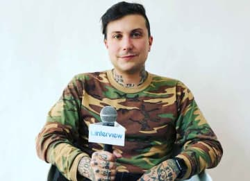 VIDEO EXCLUSIVE: Rocker Frank Iero On His New Music And Band The Future Violents