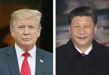 トランプ米大統領、中国の習近平国家主席