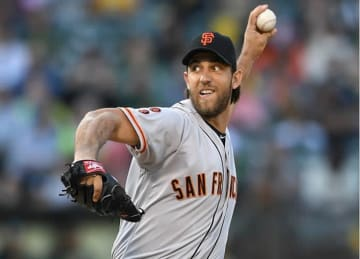 Madison Bumgarner Leads Giants to 12-6 Win vs A's