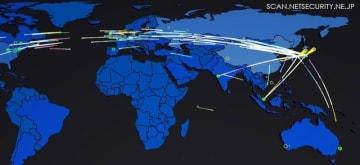 日本からのIoTデバイスへの攻撃の検知状況