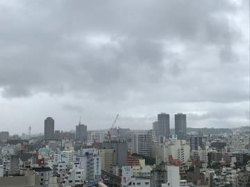 11日の那覇市内の空模様