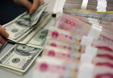 中国外貨準備高、5月末は0・2%増の3兆ドル強