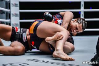 今年2月のONE初参戦で秒殺一本勝ちを収めた三浦彩佳