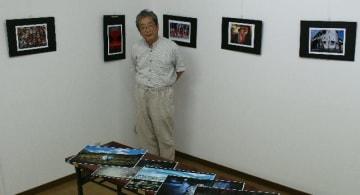 中津市大悟法に「ギャラリーややま」をオープンした余野照彦さん