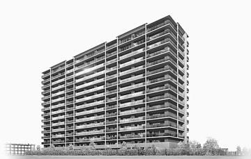 「エムズシティ新安城ブランシエラ」の完成予想図
