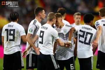圧巻8ゴールでドイツがエストニアに大勝