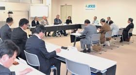 安定器の効率処理案などが示されたPCB処理事業監視円卓会議