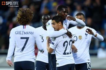 4発快勝でグループ首位に浮上したフランス