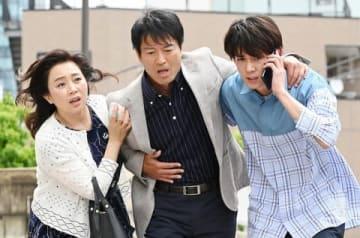連続ドラマ「白衣の戦士!」の第9話の一場面=日本テレビ提供