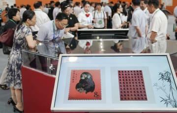 中国2019世界切手展、湖北省武漢市で開幕