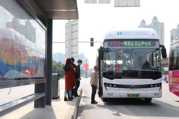 水素燃料電池バスの乗客数が延べ120万人に 四川省成都市