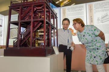 国連で「中国古代ナビゲーション展」