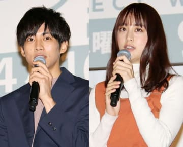 連続ドラマ「パーフェクトワールド」に出演している松坂桃李さん(左)と山本美月さん