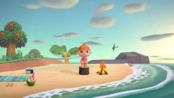 3月に発売を延期した「あつまれ どうぶつの森」のゲーム画面(任天堂提供)