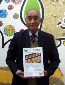 来社した斉藤会長