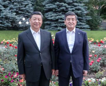 習近平主席、キルギス大統領と会見