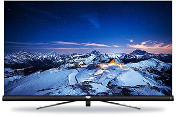 昨年9月に国内テレビ市場に参入したTCL。今秋から小泉成器をパートナーに販路を拡大していく(写真は2018年9月に発売したJBLのサウンドバーを搭載する4K液晶テレビ「65C600U」)