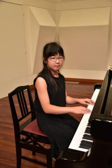 グレンツェンピアノコンクール全国大会に出場する吉村瑠空さん
