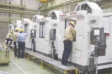 主力の工作機械関連事業で再構築を図る