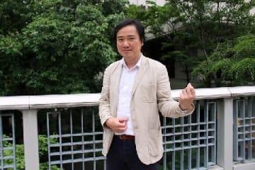 小林富雄教授(2019年5月31日、松田隆撮影、東京都内)