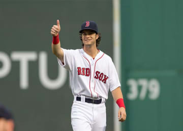 Red Sox Rookie Andrew Benintendi Makes Great Catch
