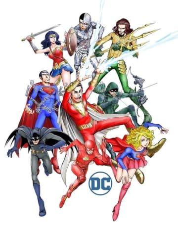 「DC×モンキー・パンチ キャンペーン」DCヒーローズ(C)モンキー・パンチ/エム・ピー・ワークス