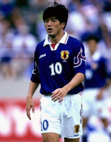 1997年9月28日ワールドカップフランス大会アジア地区最終予選韓国戦の名波浩選手