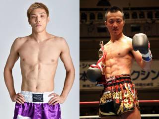 リーグ戦を独走する吉田(左)が降旗(右)と対戦