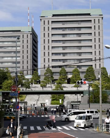 防衛省=東京都新宿区