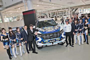 FLEX SHOW AIKAWA Racing with TOYO TIRES アジアクロスカントリーラリー2019 参戦発表会