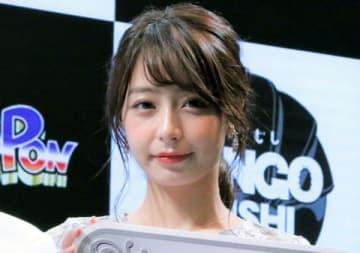 「東京おもちゃショー2019」のバンダイブースのイベントに登場した宇垣美里さん