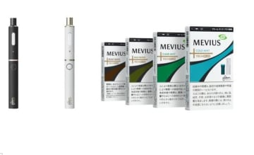 低温加熱式たばこの新商品「プルーム・テック・プラス」とメビウスの4銘柄