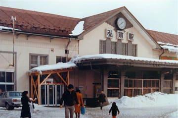 昭和50年代の弘前駅の様子