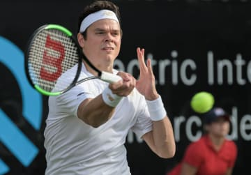 「ATP250 シュツットガルト」でのラオニッチ
