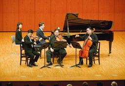 昨年のル・ポン国際音楽祭=赤穂市文化会館(同市提供)