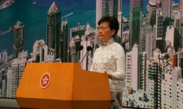 Carrie Lam. Photo: Kris Cheng/HKFP.