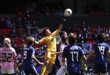 日本、スコットランドに勝利 サッカー女子W杯1次リーグ