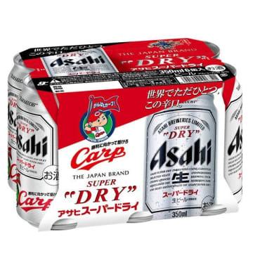 ギフト用のビールはカープ仕様に