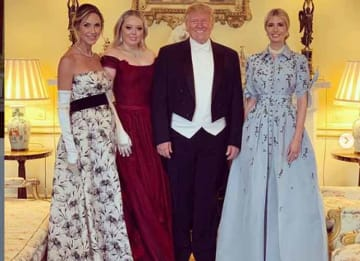 Trump Family at Buckingham Palace