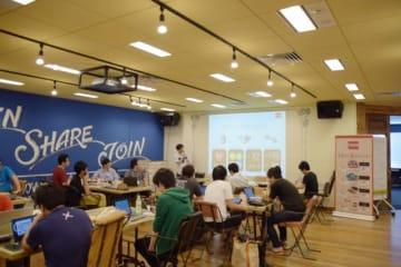 ローム株式会社が主催するプロトタイプコンテスト「ROHM OPEN HACK CHALLENGE」2018年ハッカソンの様子。気軽に参加できるハッカソンは日本各地で開催されている