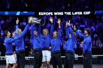 2018年「レーバー・カップ」でのチーム・ヨーロッパ