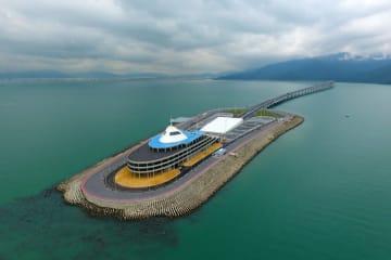 港珠澳大橋の東人工島で観光開発が近くスタート