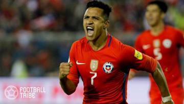 チリ代表の中心選手アレクシス・サンチェス 写真提供:GettyImages