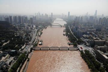 黄河にかかる「110歳」の中山橋を訪ねて 甘粛省蘭州市