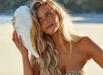 Model Camille Kostek Visits Kangaroo Island, Australia, For 'Sports Illustrated' Rookie Of The Year Shoot